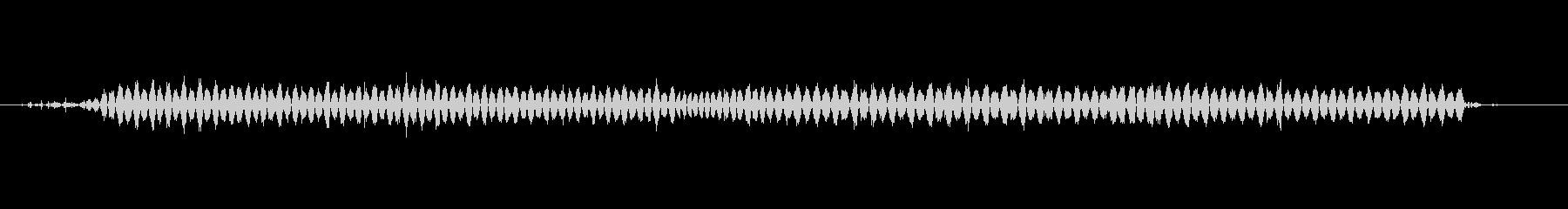 サンドペーパー-楽器の未再生の波形