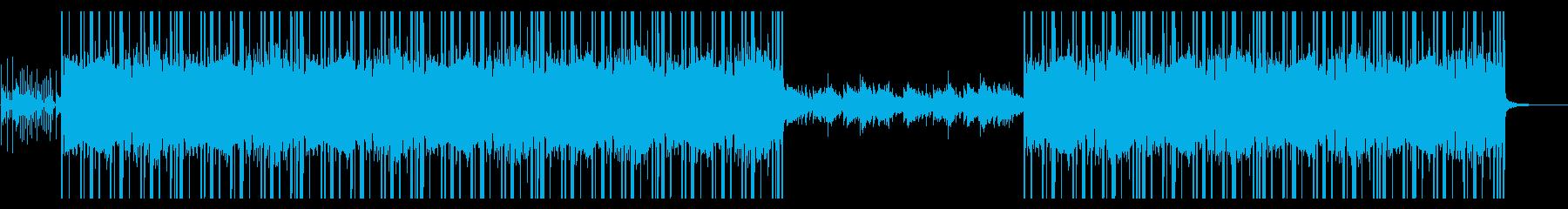 Vtuber向けBGM 和風ヒップホップの再生済みの波形