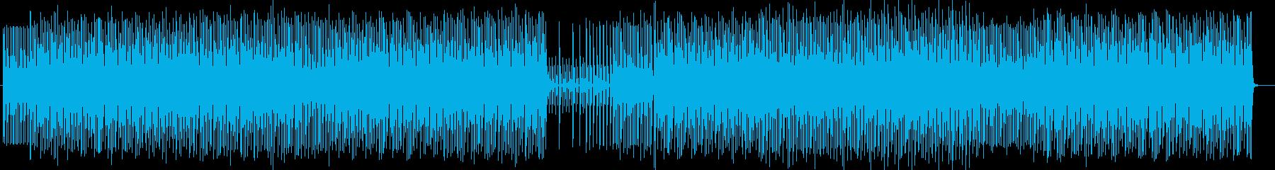 謎めいた雰囲気のミュージックの再生済みの波形