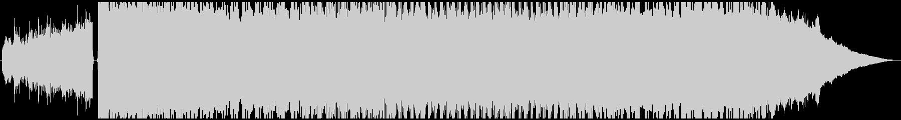 疾走感のあるギターロックサウンドの未再生の波形