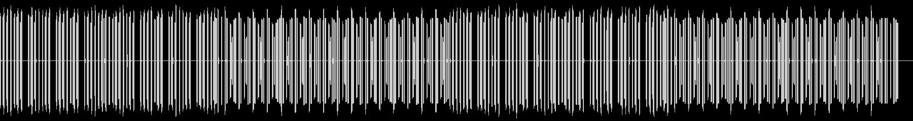 ほのぼのしたファミコン風のBGMの未再生の波形