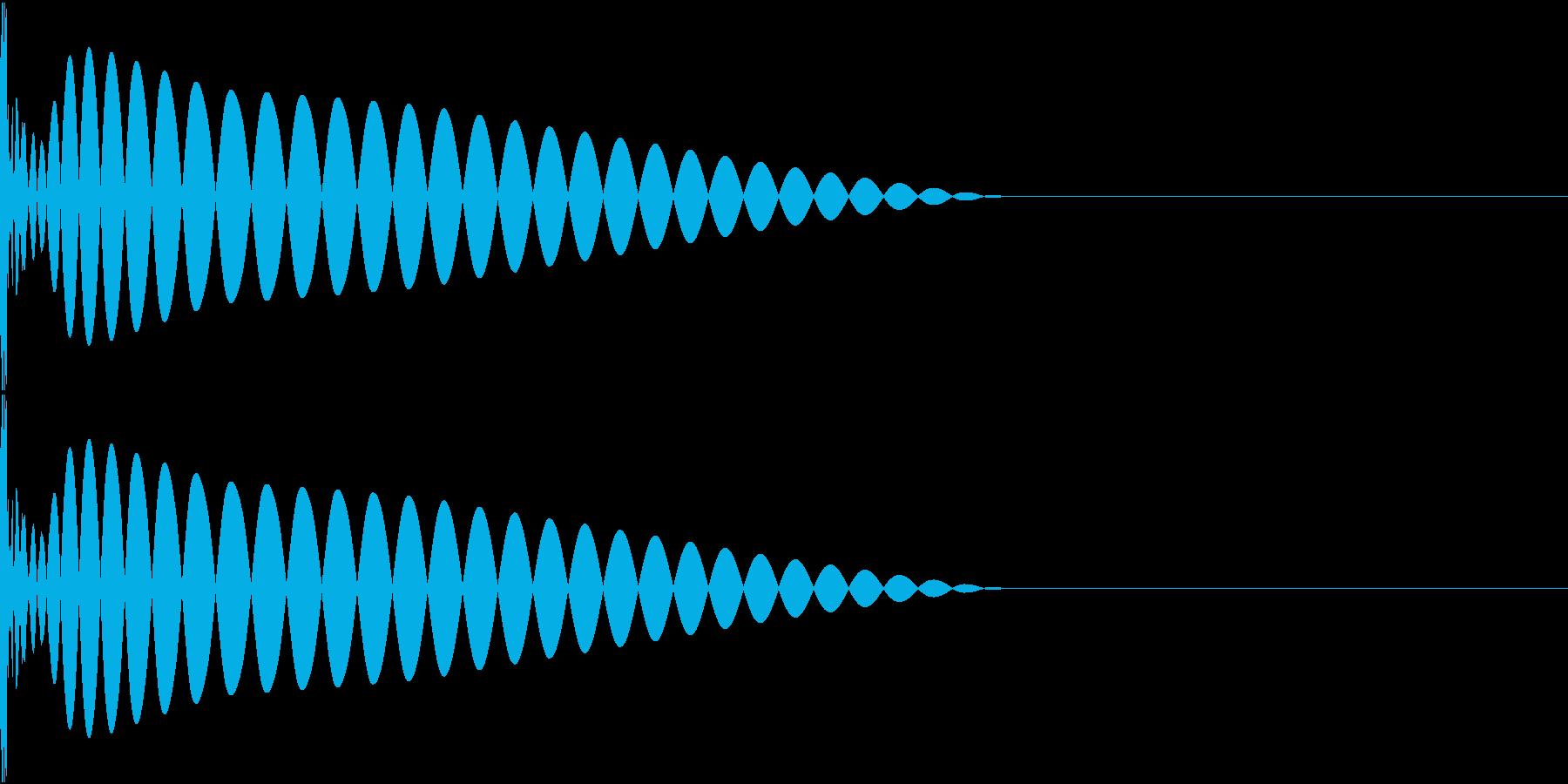 DTM Kick 79 オリジナル音源の再生済みの波形