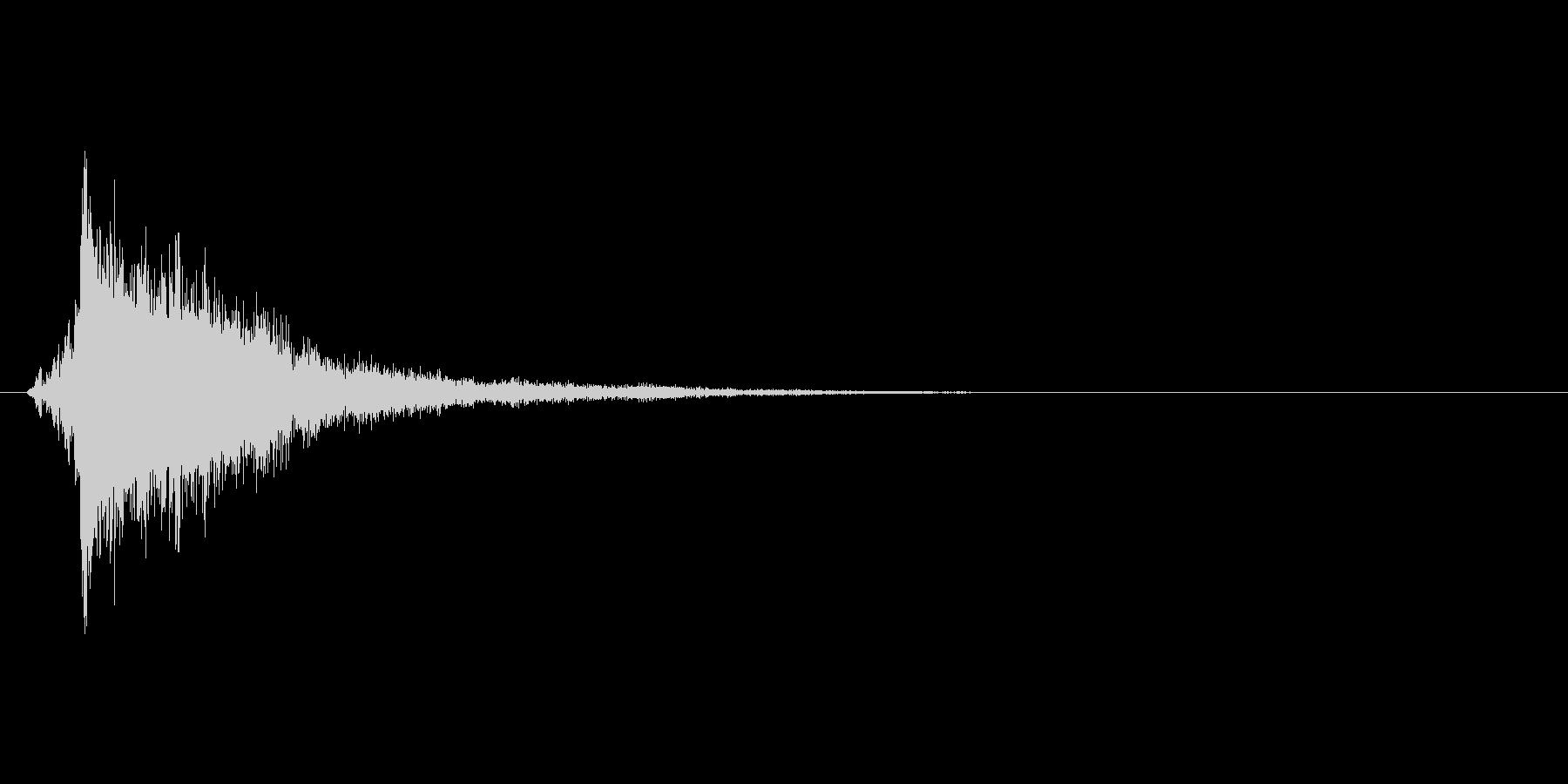 氷が砕ける音・氷系の魔法SE(低レベル)の未再生の波形