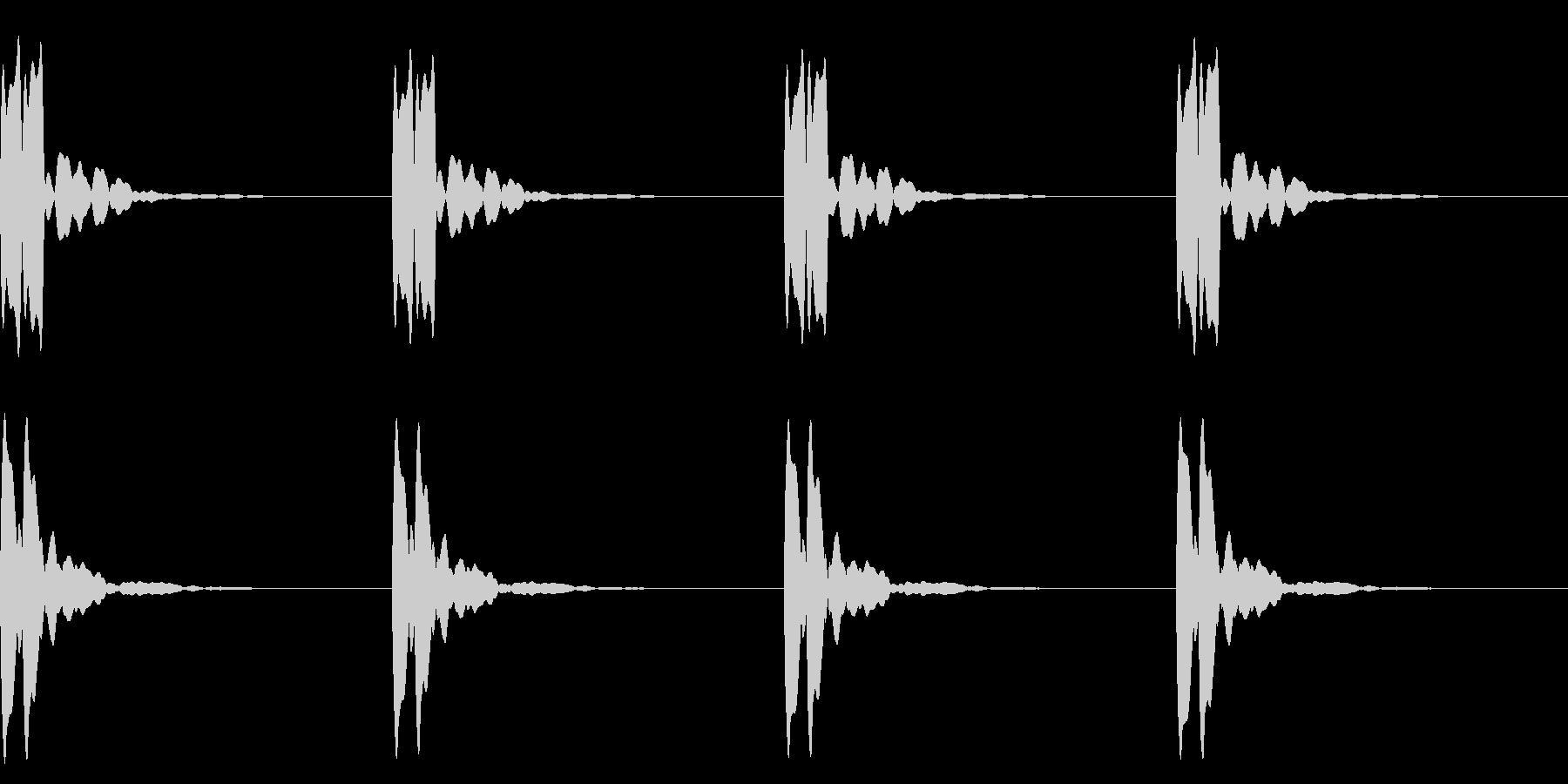 横断歩道 誘導音03-3(ループ) の未再生の波形