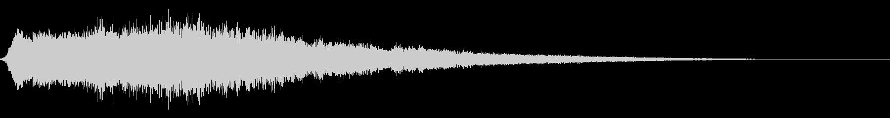 ぽわーん_高(セーブ/回復音)の未再生の波形