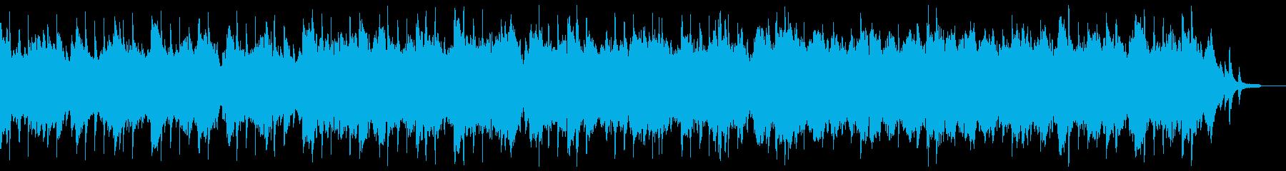 ゆったりと盛り上がるシンフォニックチル。の再生済みの波形