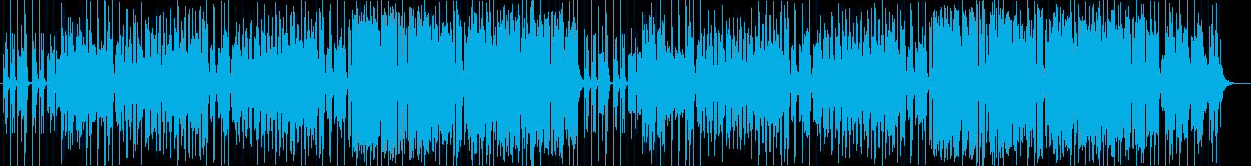豪華な管楽器・打楽器などの行進系サウンドの再生済みの波形