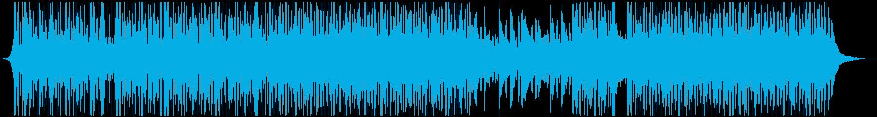 IT企業VP系アップテンポで爽やか生音系の再生済みの波形