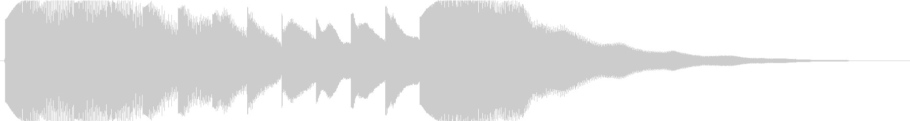 Sound logo, music box makes me feel sad's unreproduced waveform