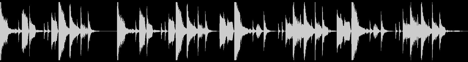 ミニマルITライフ_仮想空間_ループ仕様の未再生の波形