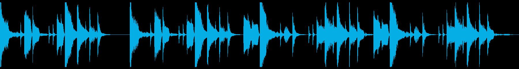 ミニマルITライフ_仮想空間_ループ仕様の再生済みの波形