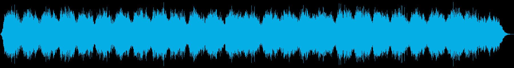 幻想的なシンセのヒーリングミュージックの再生済みの波形