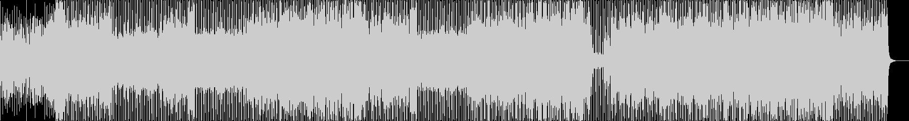 ダンス/懐かしさ/オケヒット/ハイテンポの未再生の波形