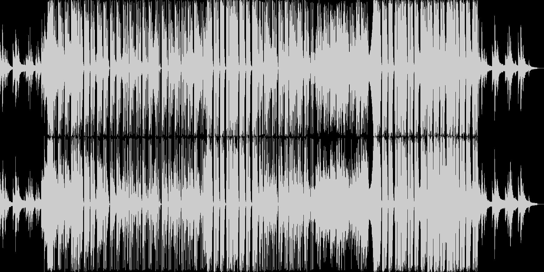 EDM|R&B|おしゃれかっこいいピアノの未再生の波形