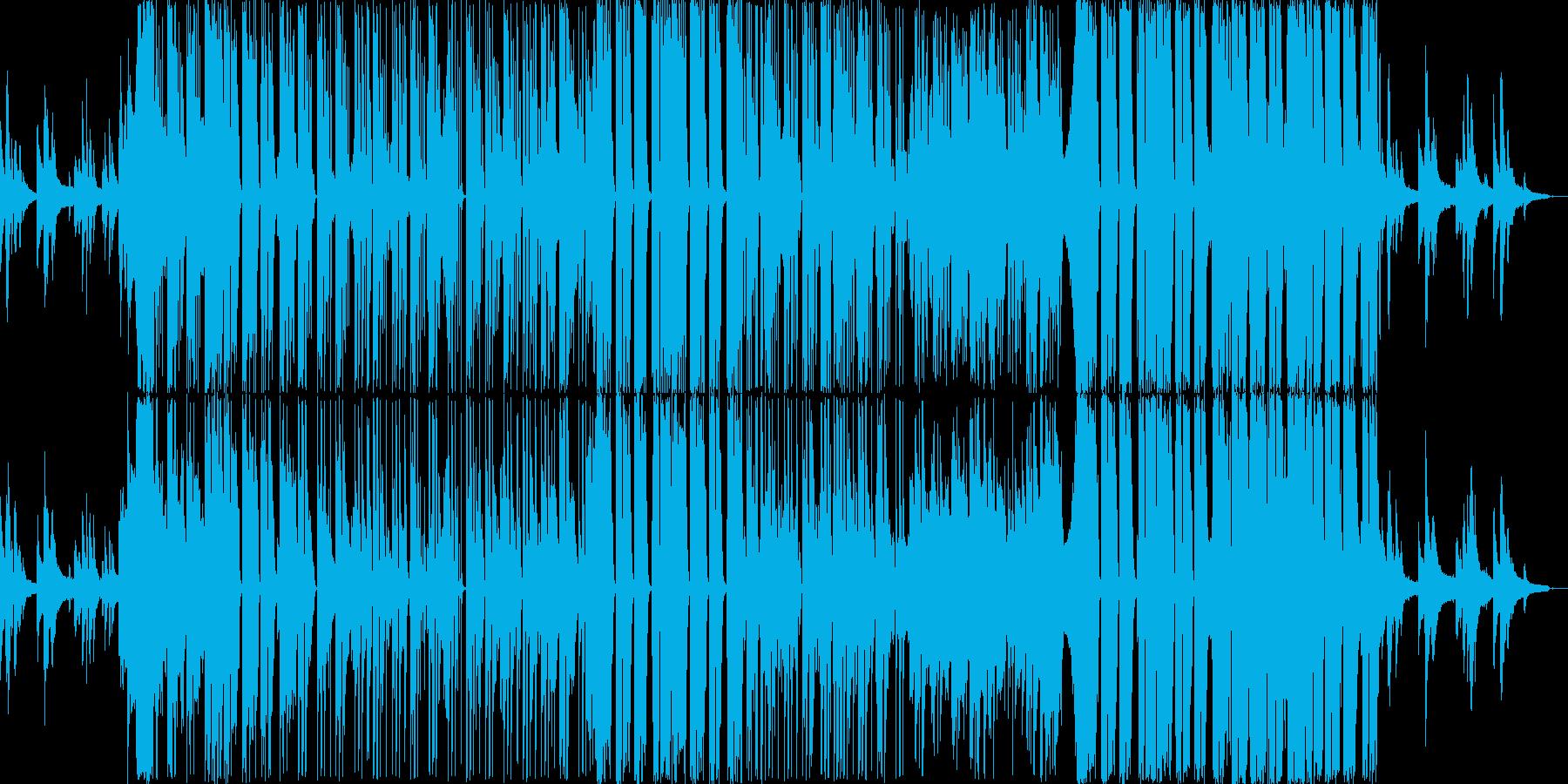 EDM|R&B|おしゃれかっこいいピアノの再生済みの波形