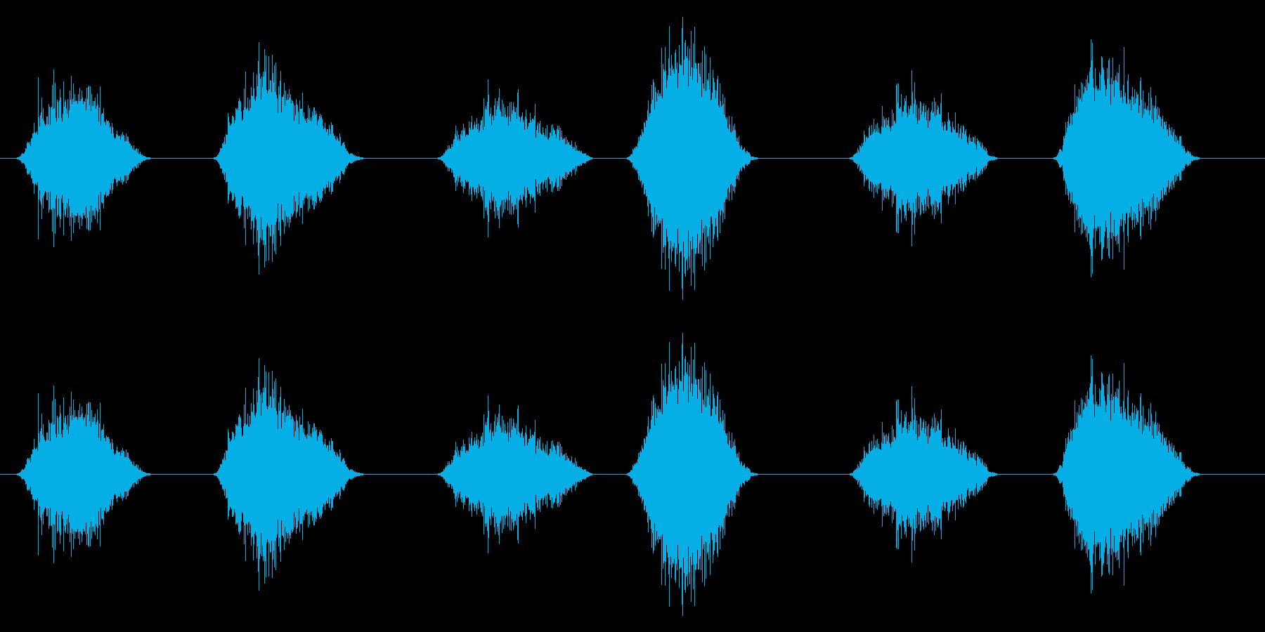 PC マウス ムーブ03-16(ハード)の再生済みの波形
