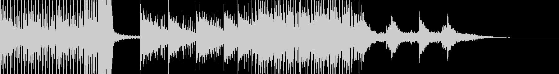 配信のエンディングなどに最適なEDMの未再生の波形