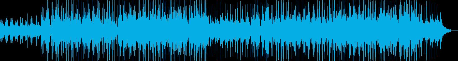 爽やかで清涼感のあるアコギソングの再生済みの波形