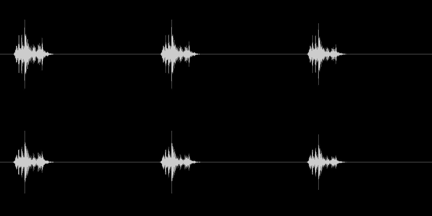 戦闘機シグナル_アナログ_カシャの未再生の波形