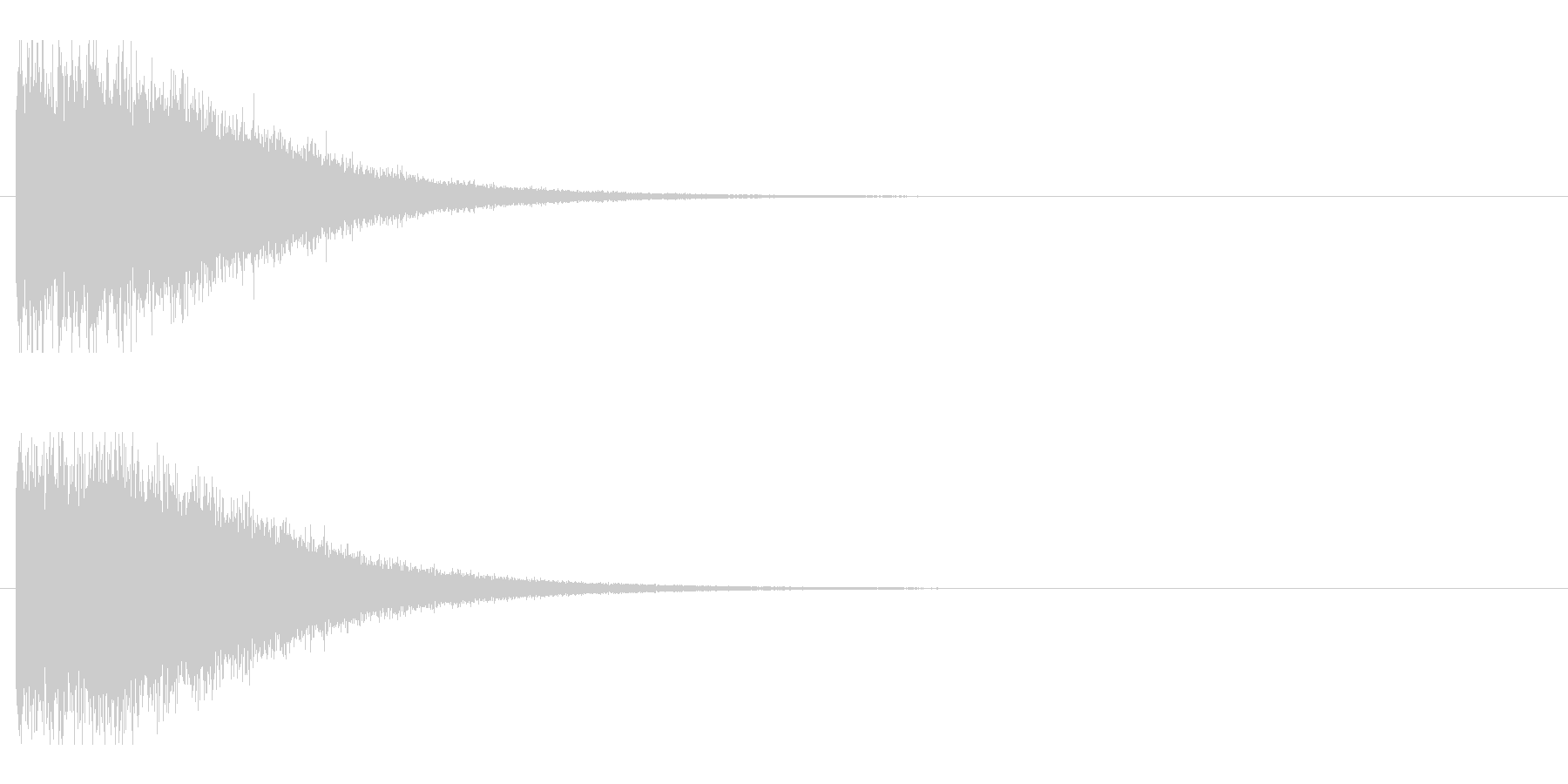 レーザー音-148-2の未再生の波形