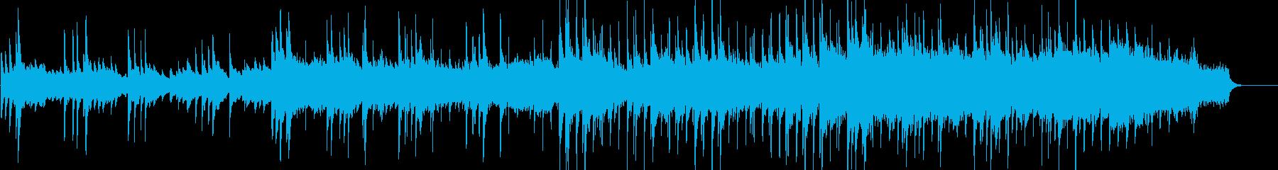故郷を想う上品なピアノバラードの再生済みの波形