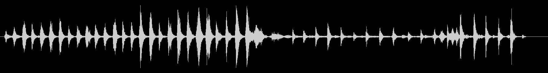 空手ワークアウト-エクササイズ、ジ...の未再生の波形
