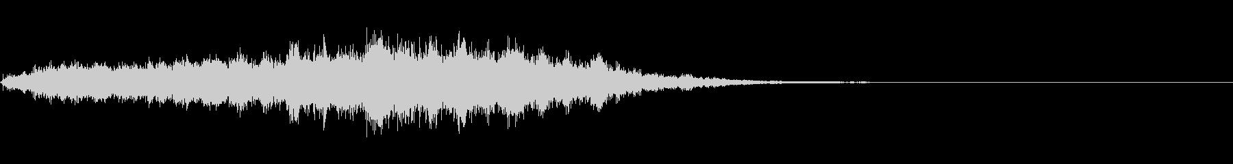 ホラー系導入音_その2の未再生の波形