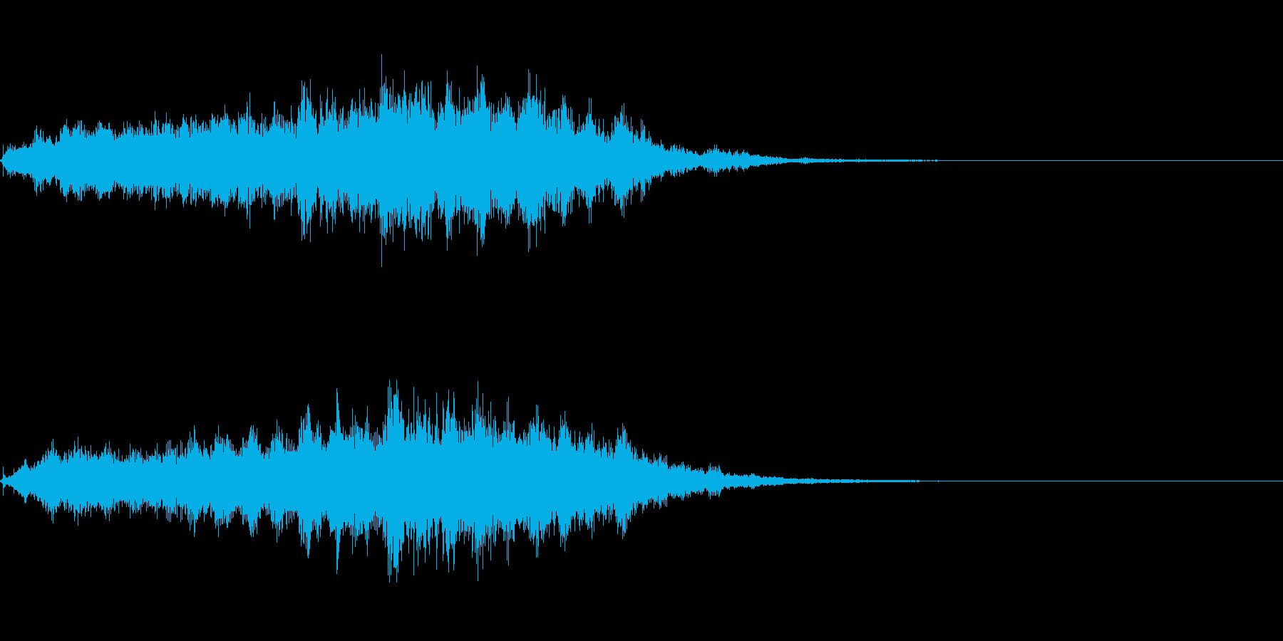 ホラー系導入音_その2の再生済みの波形