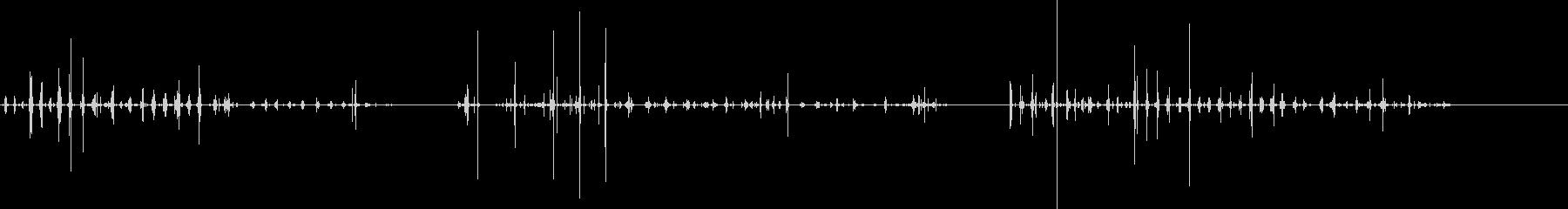 食べる-噛む-動物-人工-3バージョン2の未再生の波形