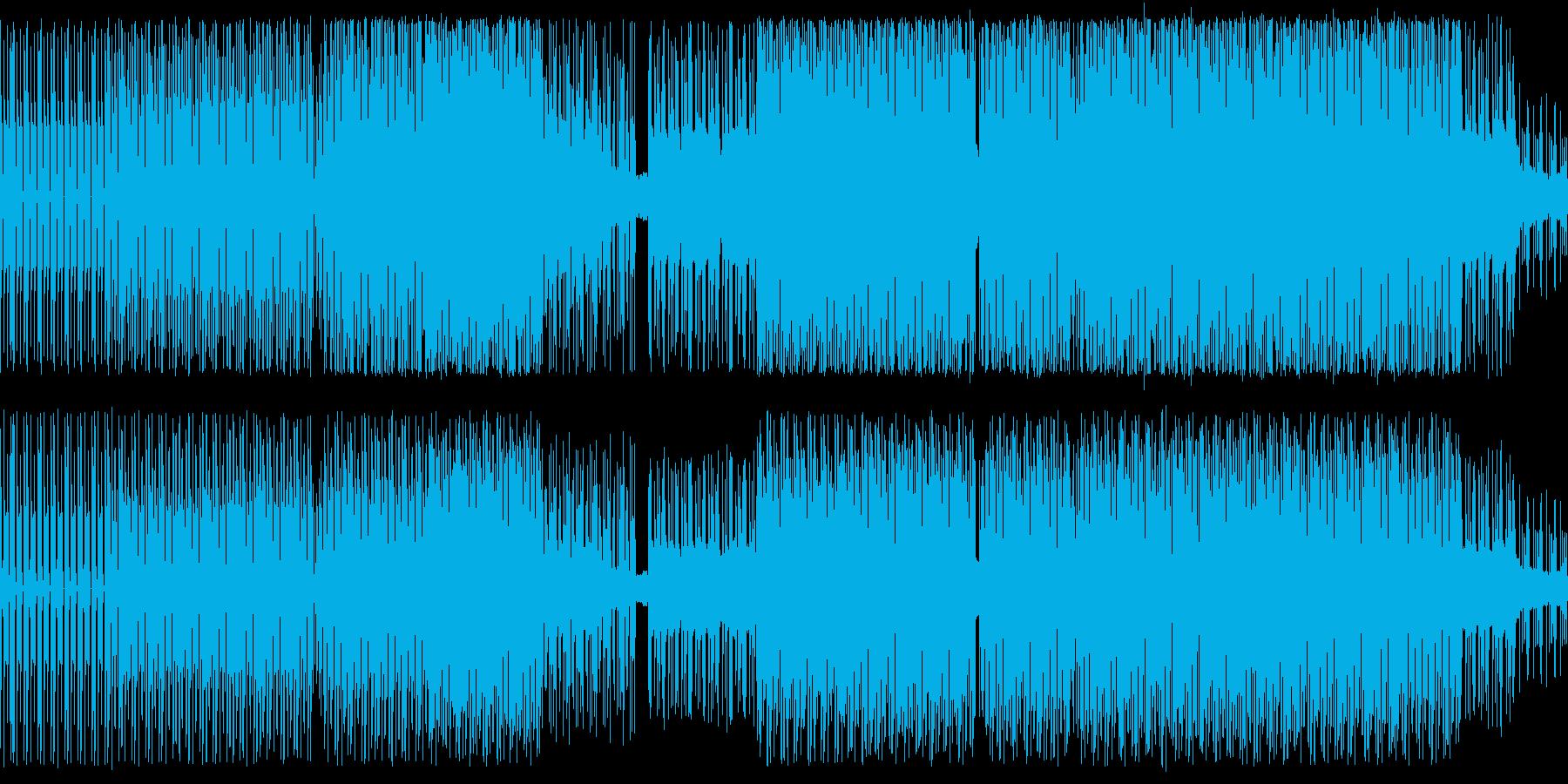 テクノ。部族とアンビエント。の再生済みの波形