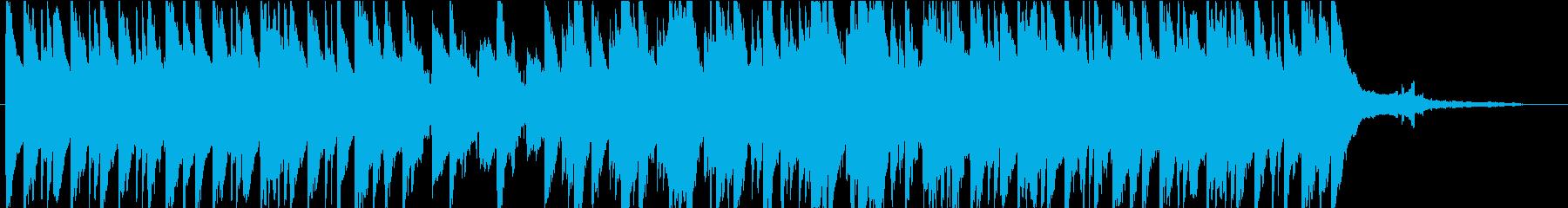 心が休まる幻想的な曲の再生済みの波形