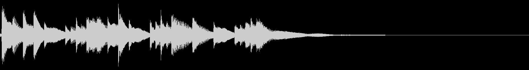 琴☆アイキャッチ2の未再生の波形