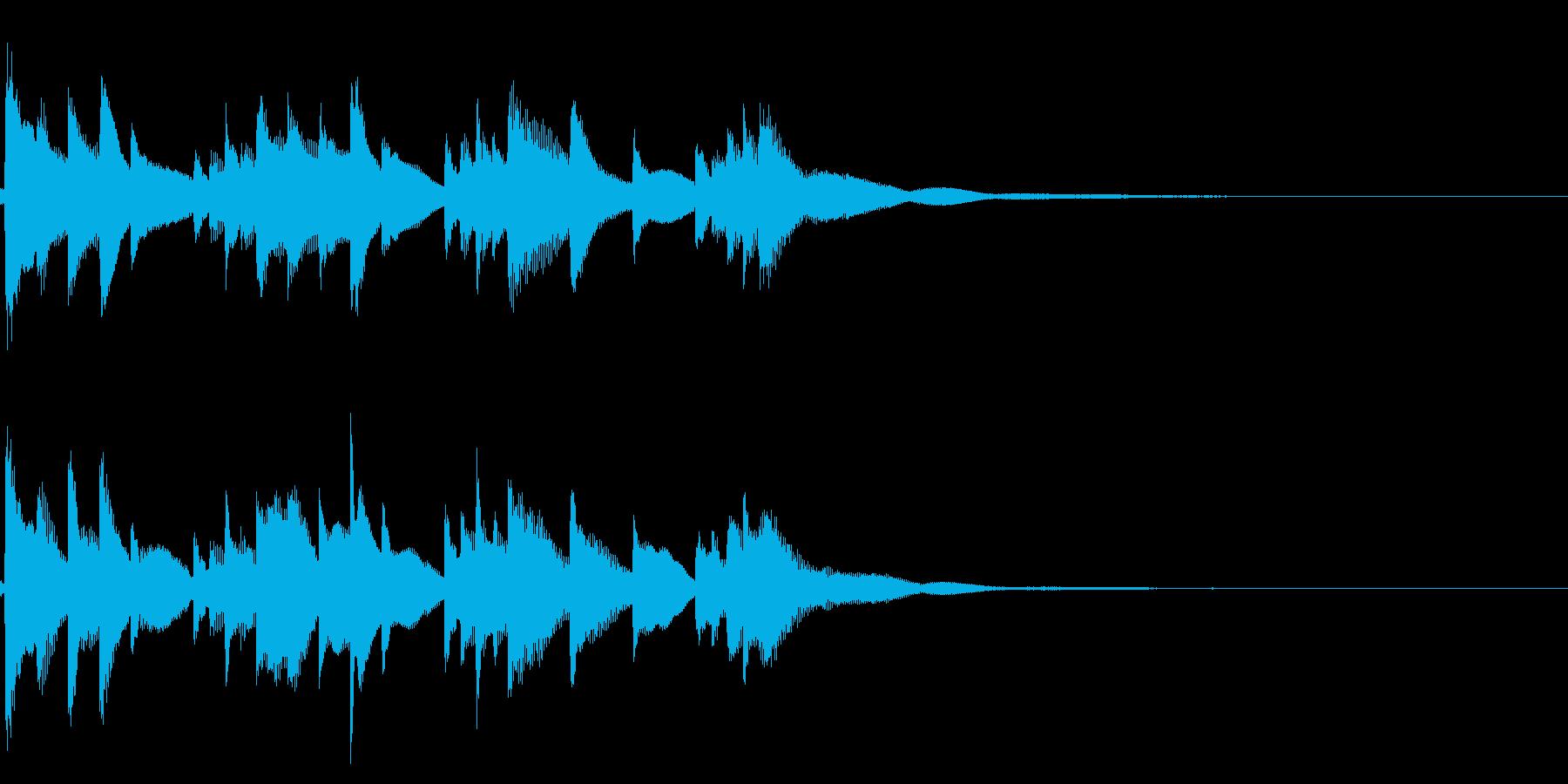琴☆アイキャッチ2の再生済みの波形