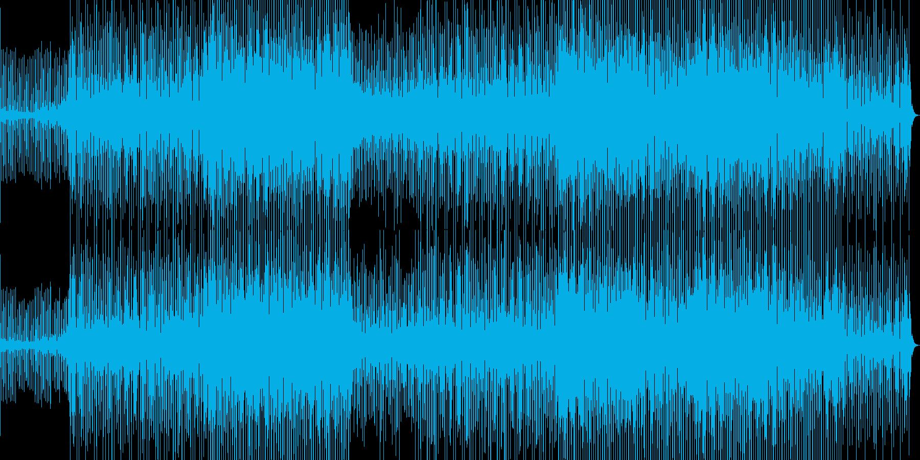 明るく楽観的なモダンサウンドの再生済みの波形