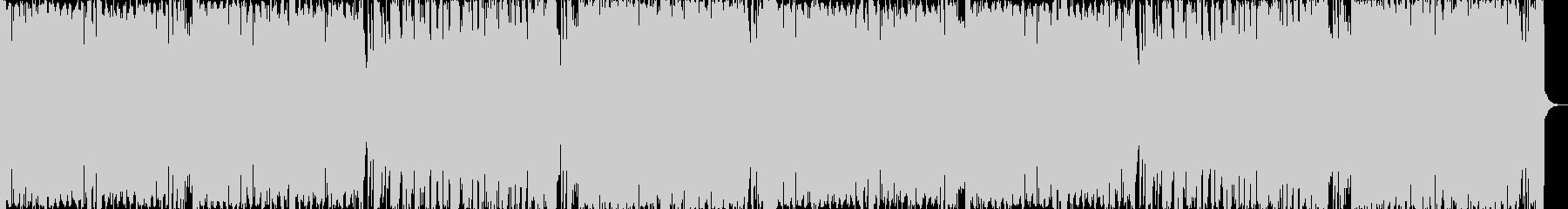 アゲアゲなクラブEDMの未再生の波形