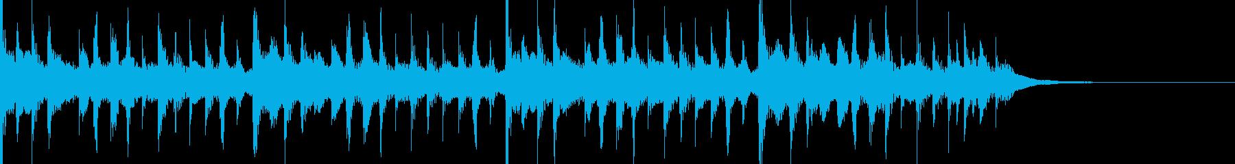 カリビアン風ジングル6の再生済みの波形