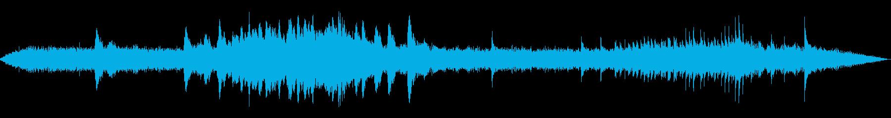 荒涼のイメージ(30秒)の再生済みの波形