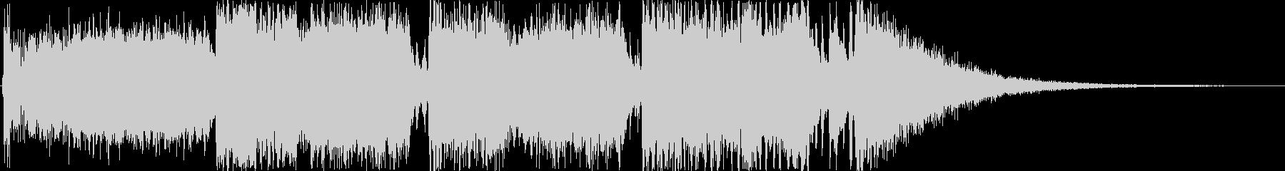 クイズのオープニング曲をイメージした作品の未再生の波形