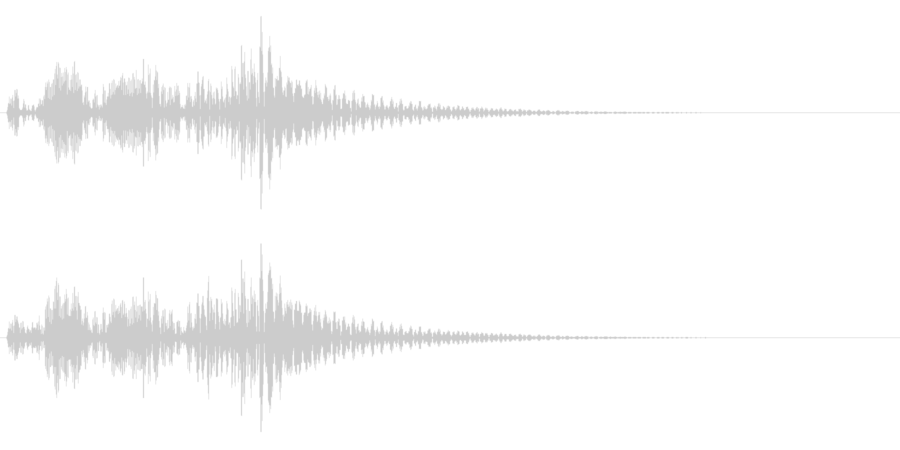 決定・空気感・キャッチー・印象的5の未再生の波形