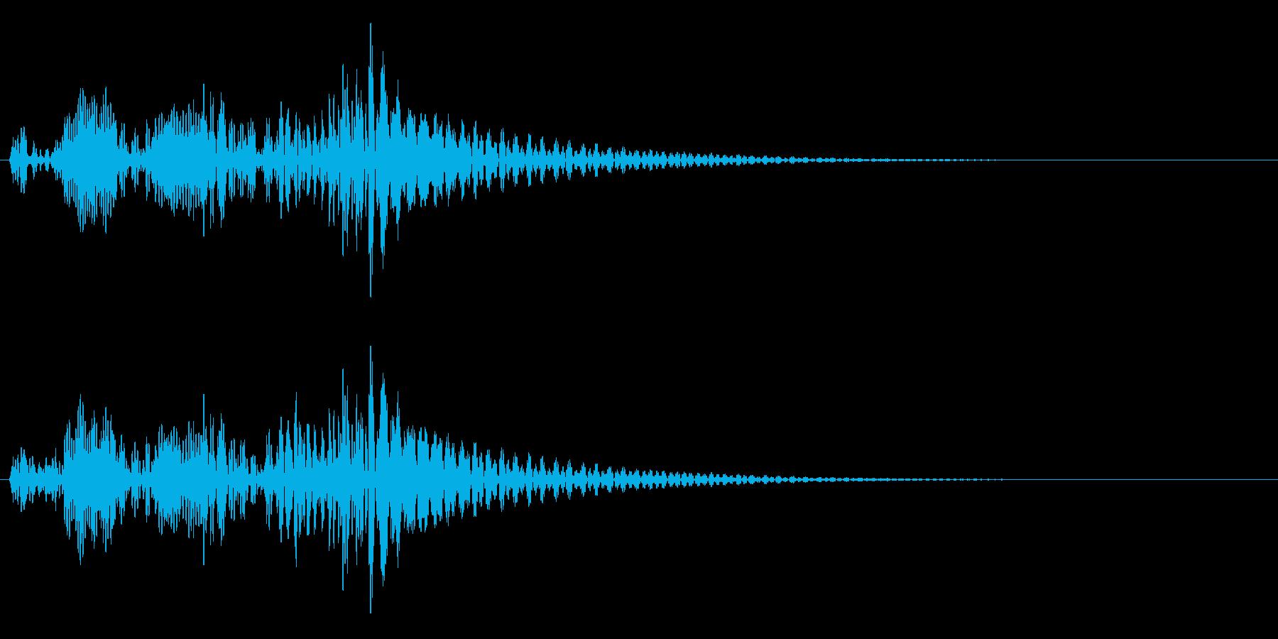 決定・空気感・キャッチー・印象的5の再生済みの波形