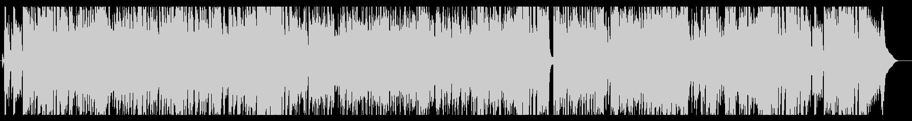 トランペットがメインの速いコンボジャズの未再生の波形