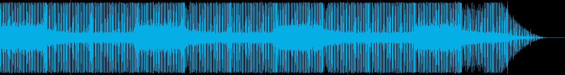 スペーシーなムードでインストゥルメ...の再生済みの波形