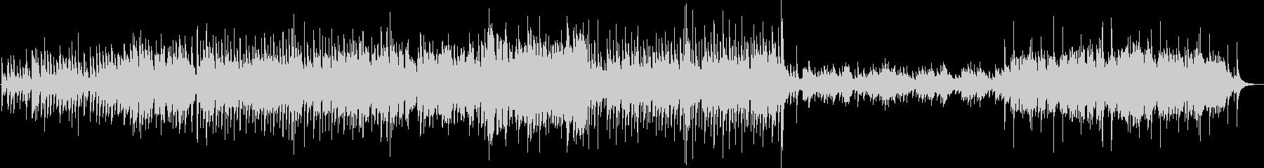 怪しい黒猫の幻想的なマリンバ/ハープ合奏の未再生の波形
