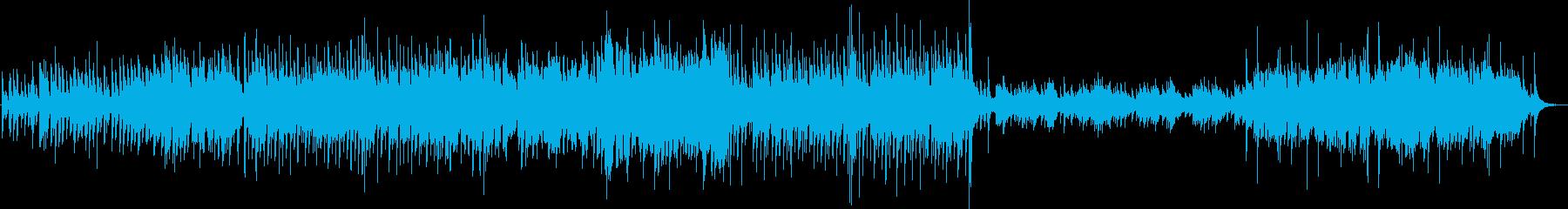 怪しい黒猫の幻想的なマリンバ/ハープ合奏の再生済みの波形