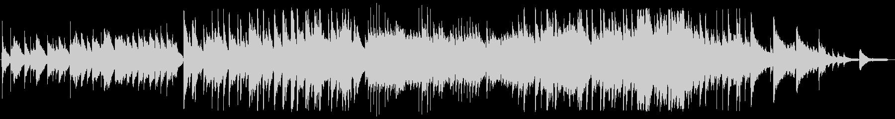 ノスタルジックでほのぼのしたBGMの未再生の波形