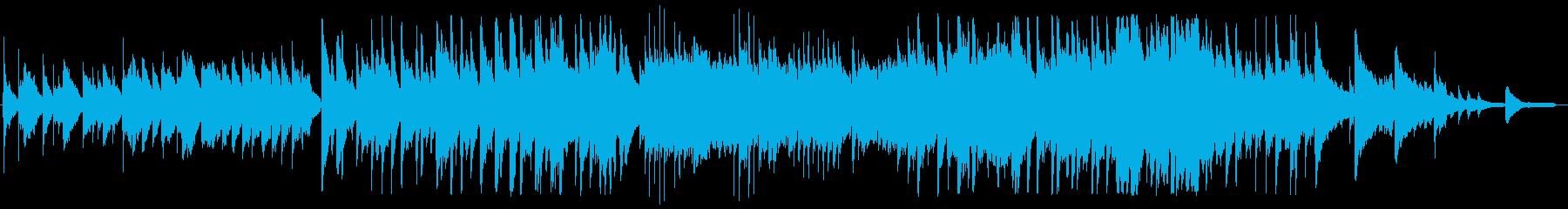 ノスタルジックでほのぼのしたBGMの再生済みの波形