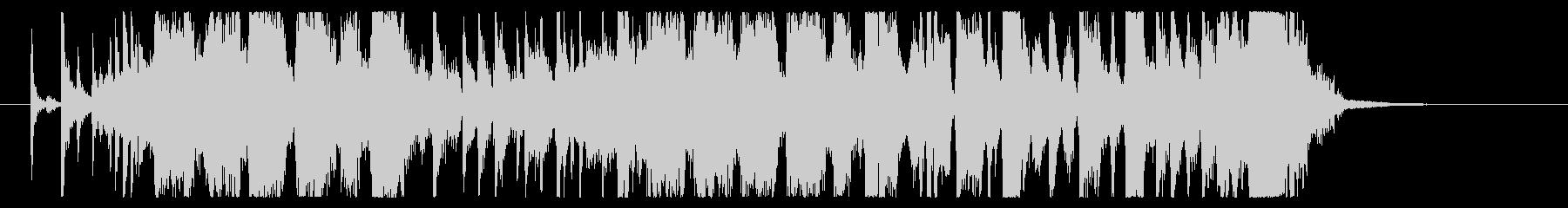 【生演奏】疾走感のあるファンクロック の未再生の波形