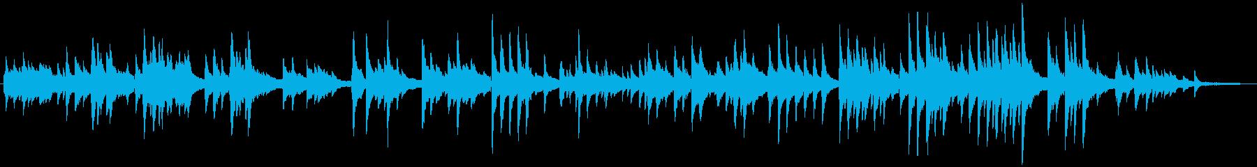 ちょっと和風なのんびりしたピアノ曲です!の再生済みの波形