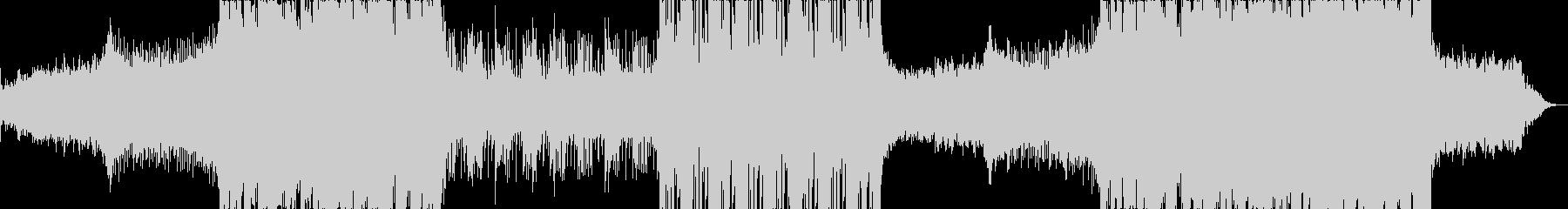 遊びのある爽やかなフューチャーエレクトロの未再生の波形
