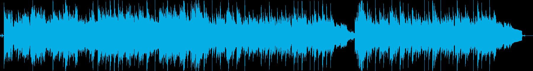 温泉旅館のイメージ。ほのぼの系の再生済みの波形